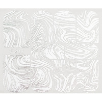 Abstract silver (F208)