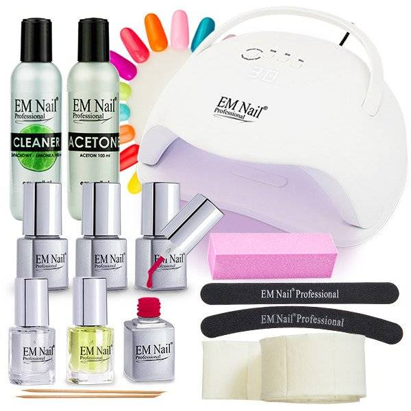 Gel Polish Set START LED Premium 54W