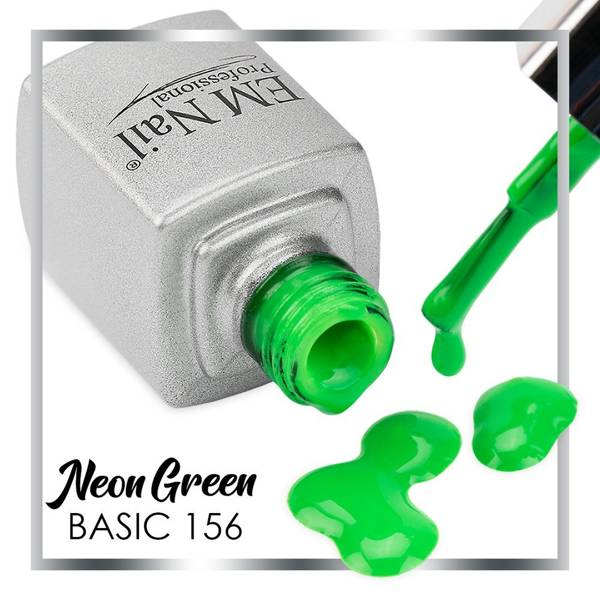 Neon Green 156 Gel Polish