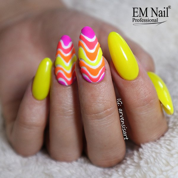 Neon Yellow 155 Gel Polish
