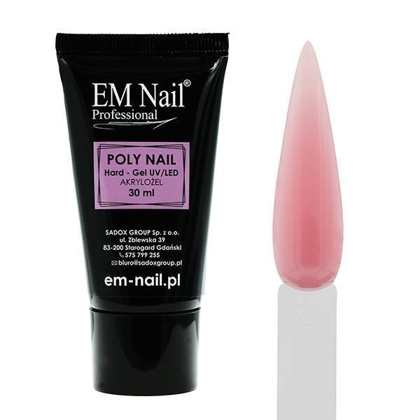 Poly Nail Hard - Gel Light Pink 30ml