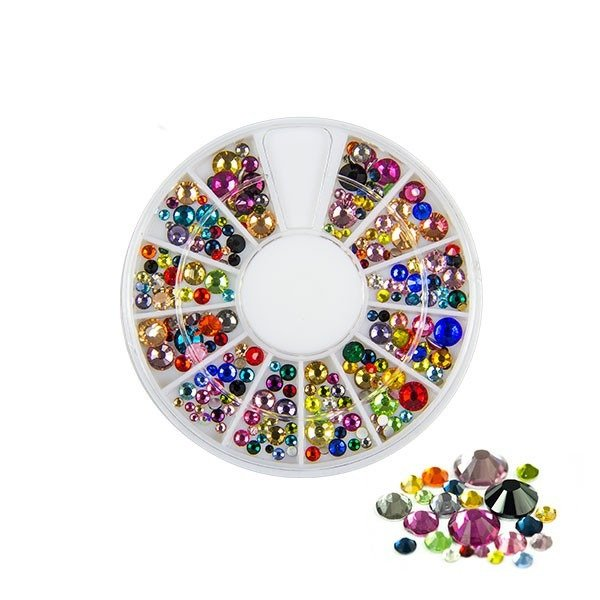 Rhinestones Zirconia different sizes
