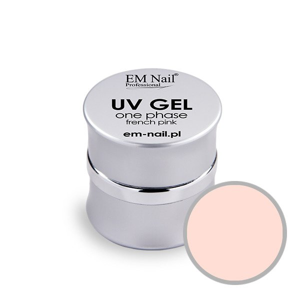 UV Gel One Phase - French pink