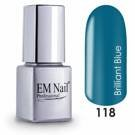 Brilliant Blue 118 Gel Polish