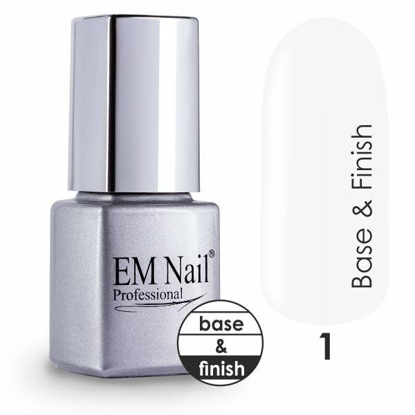 Base & Finish Gel Polish