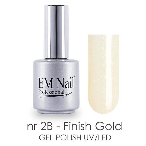 Finish Gold 2B Gel Polish