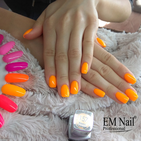 Neon Orange 157 Gel Polish