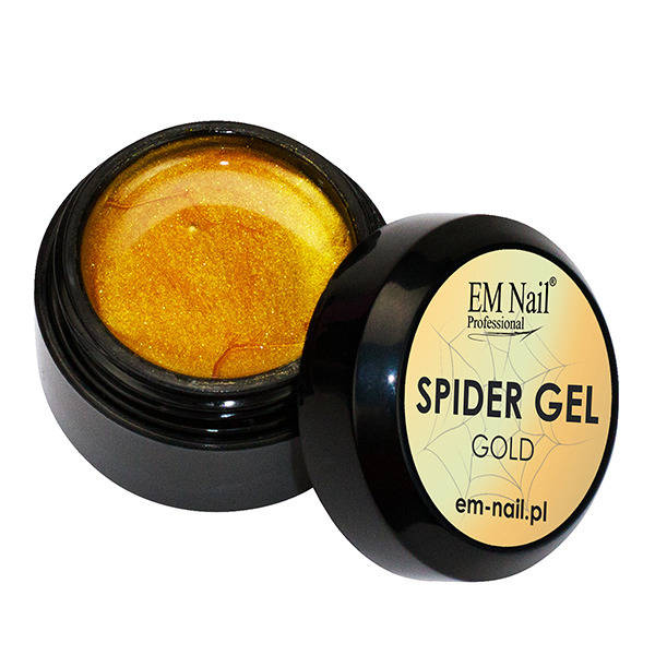 Spider Gel - gold