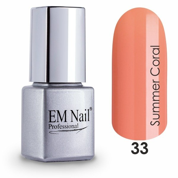 Summer Coral 33 Gel Polish