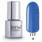 Knock Out Blue 117 Gel Polish