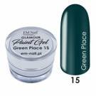 Paint Gel Glamour Nr. 15 Green Place