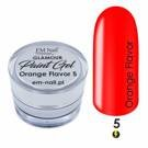 Paint Gel Glamour Nr. 5 Orange Flavor