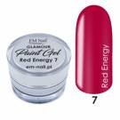 Paint Gel Glamour Nr. 7 Red Energy